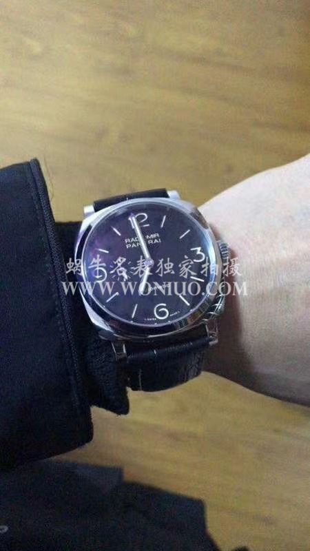 视频评测珍珠陀沛纳海RADIOMIR系列PAM00572腕表【SF厂一比一复刻】