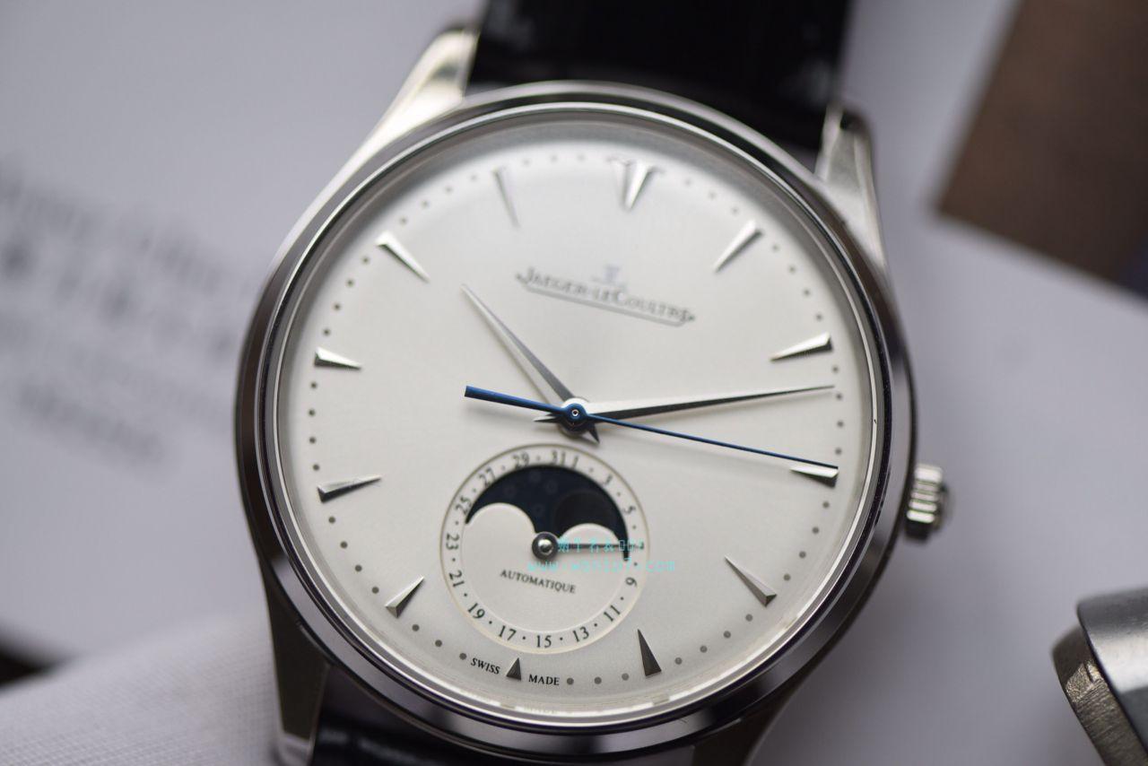 视频评测积家大师系列1368420腕表一比一高仿手表【ZF新品,积家月相大师系列】