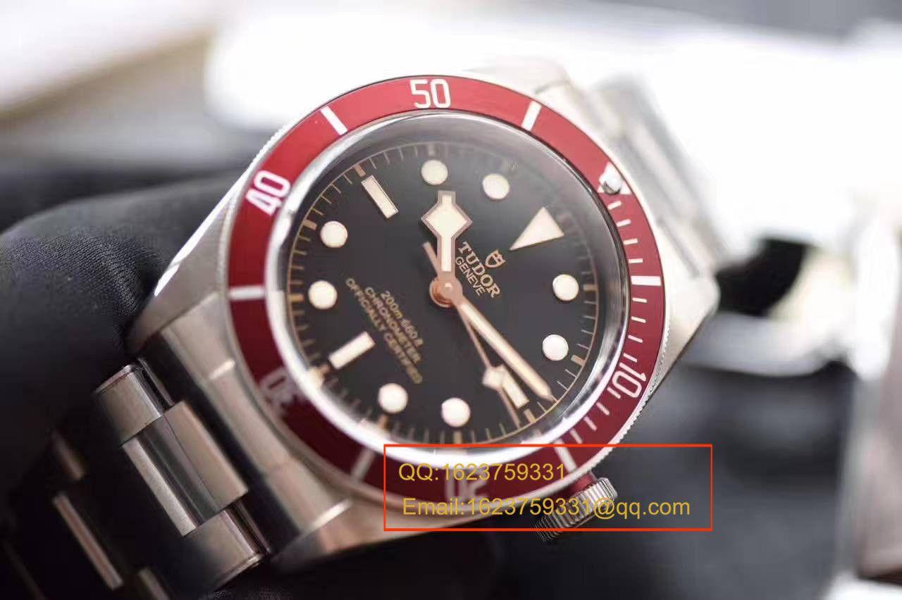 视频评测TUDOR帝舵碧湾系列79220R 不锈钢表带腕表(小红花)一比一高仿手表【ZF帝舵小红花】 / DT009MM