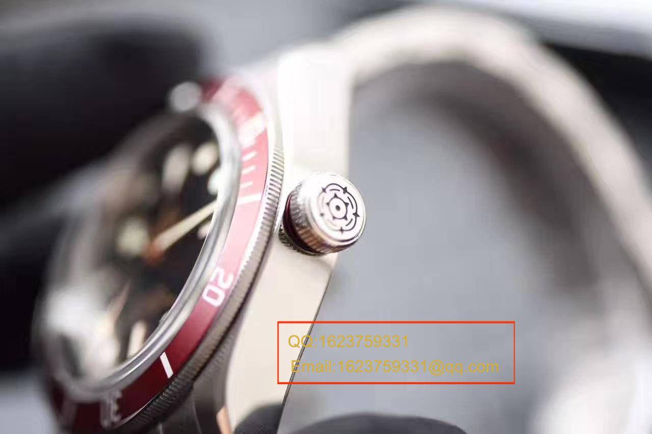 视频评测TUDOR帝舵碧湾系列79220R 不锈钢表带腕表(小红花)一比一高仿手表【ZF帝舵小红花】