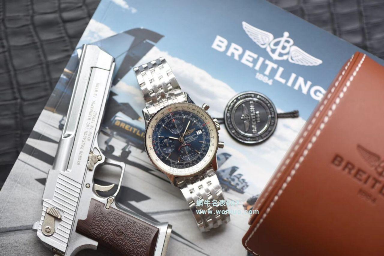 视频评测渠道原单货Breitling百年灵航空计时1系列A1332412|C942|451A腕表【百年灵航空计时,老毒物】