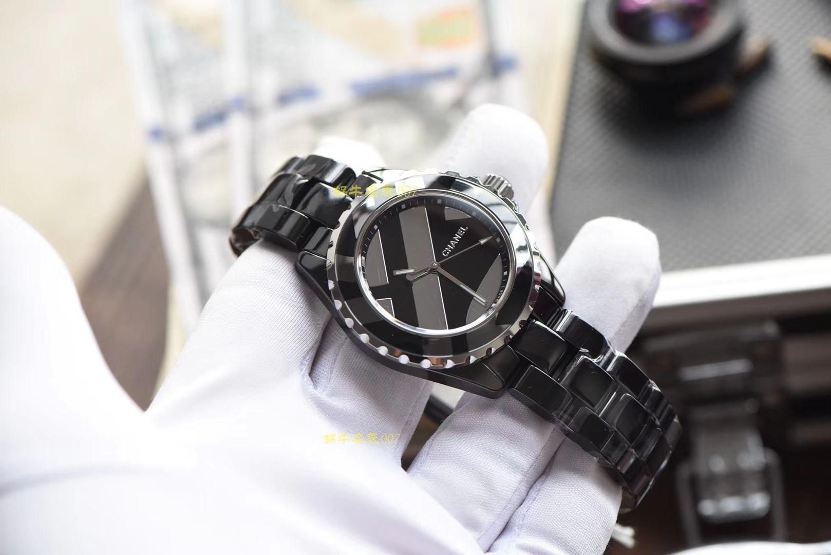 香奈儿J12系列H5581腕表一比一复刻【 KOR出品 韩版CHANEL J12香 奈 儿INTENSE 重置加强版】