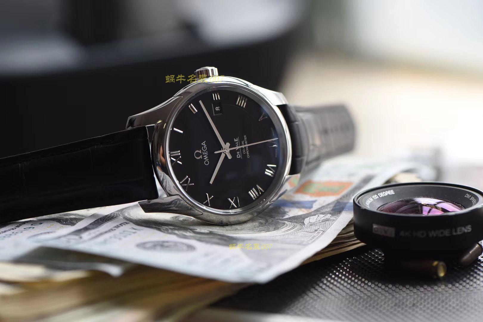 视频评测OMEGA欧米茄碟飞系列431.13.41.21.01.001腕表【VS一比一超A精仿手表】