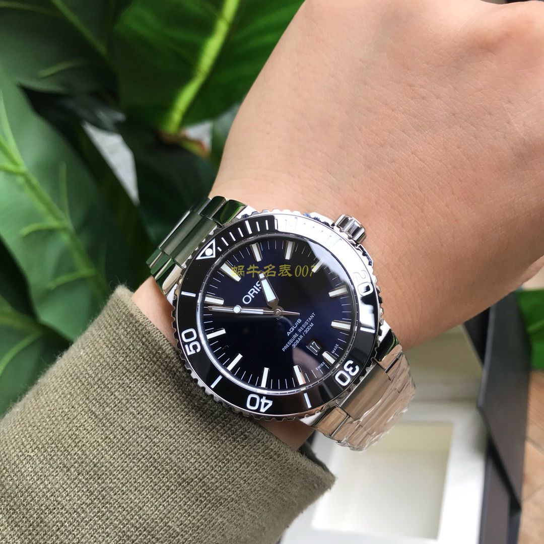 【渠道原单硬货】豪利时潜水系列01 733 7730 4159-07 8 24 05PEB腕表