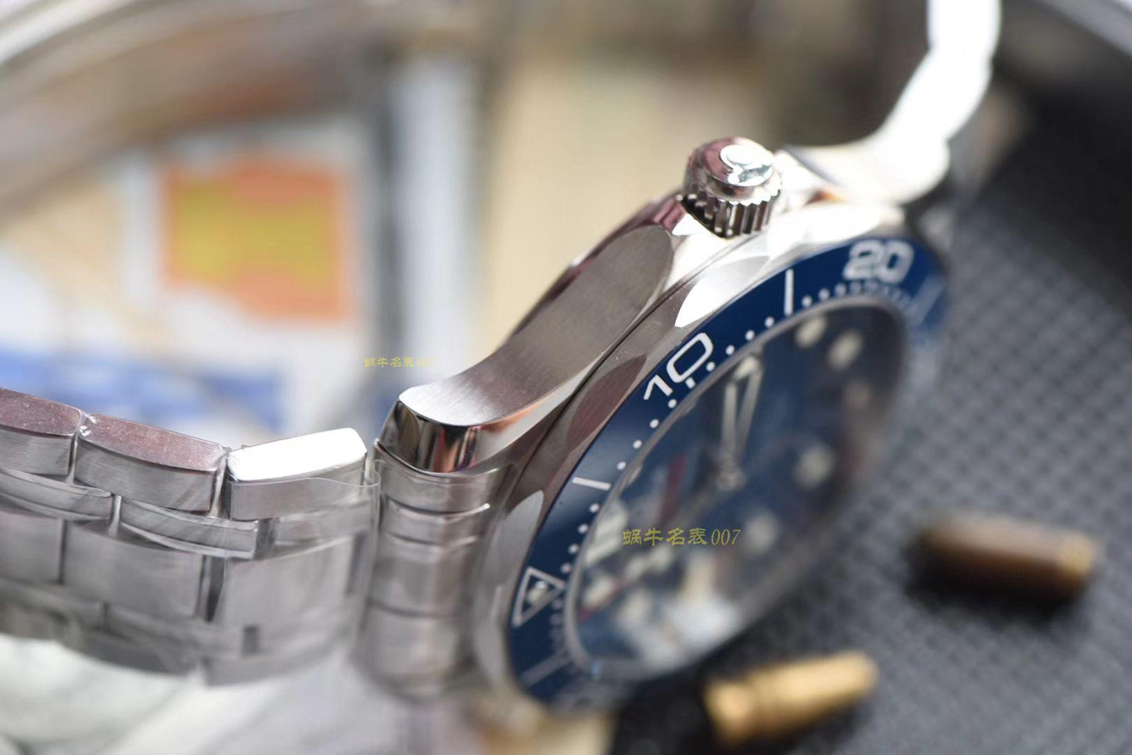 【视频评测】欧米茄海马系列210.30.42.20.03.001腕表(VS厂一比一高仿手表007代言广告款)