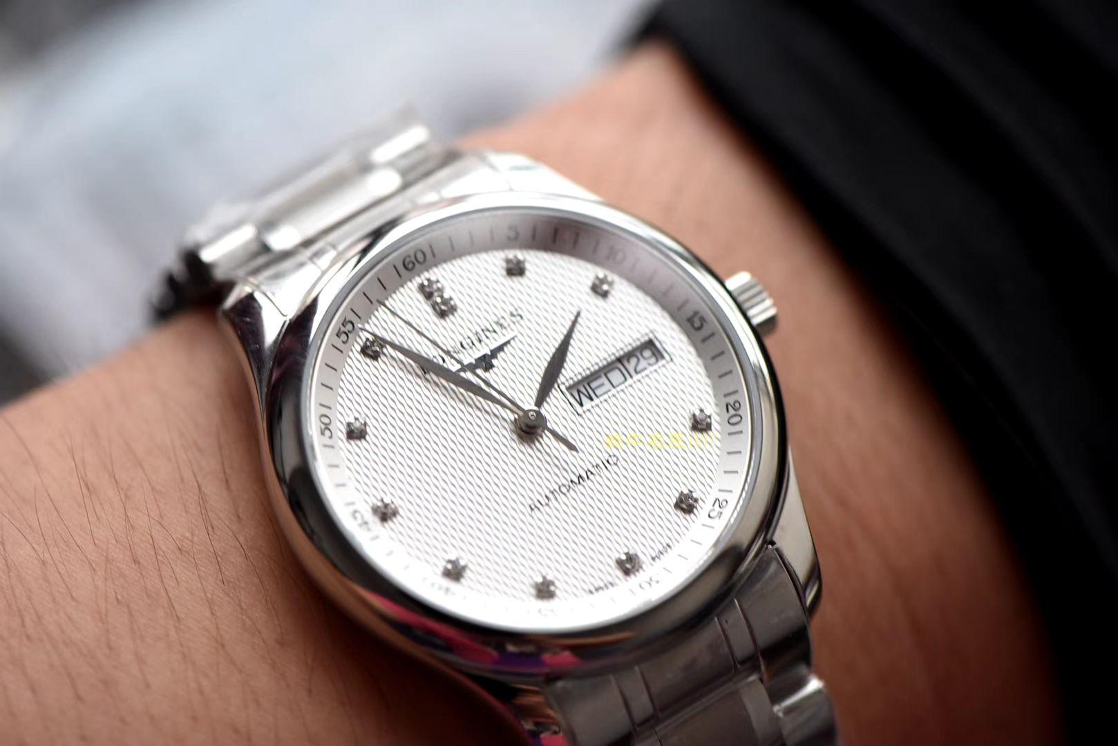 视频评测浪琴制表传统系列L2.910.4.77.6腕表【LG一比一超A高仿浪琴名匠手表】