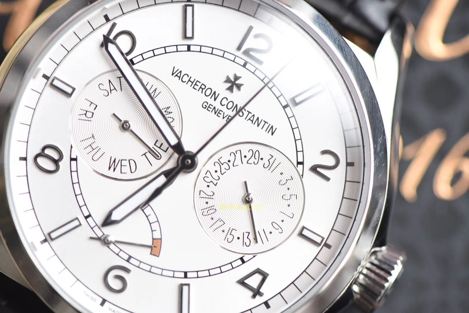 【视频评测TWA一比一高仿手表】江诗丹顿伍陆之型系列4400E/000A-B437腕表