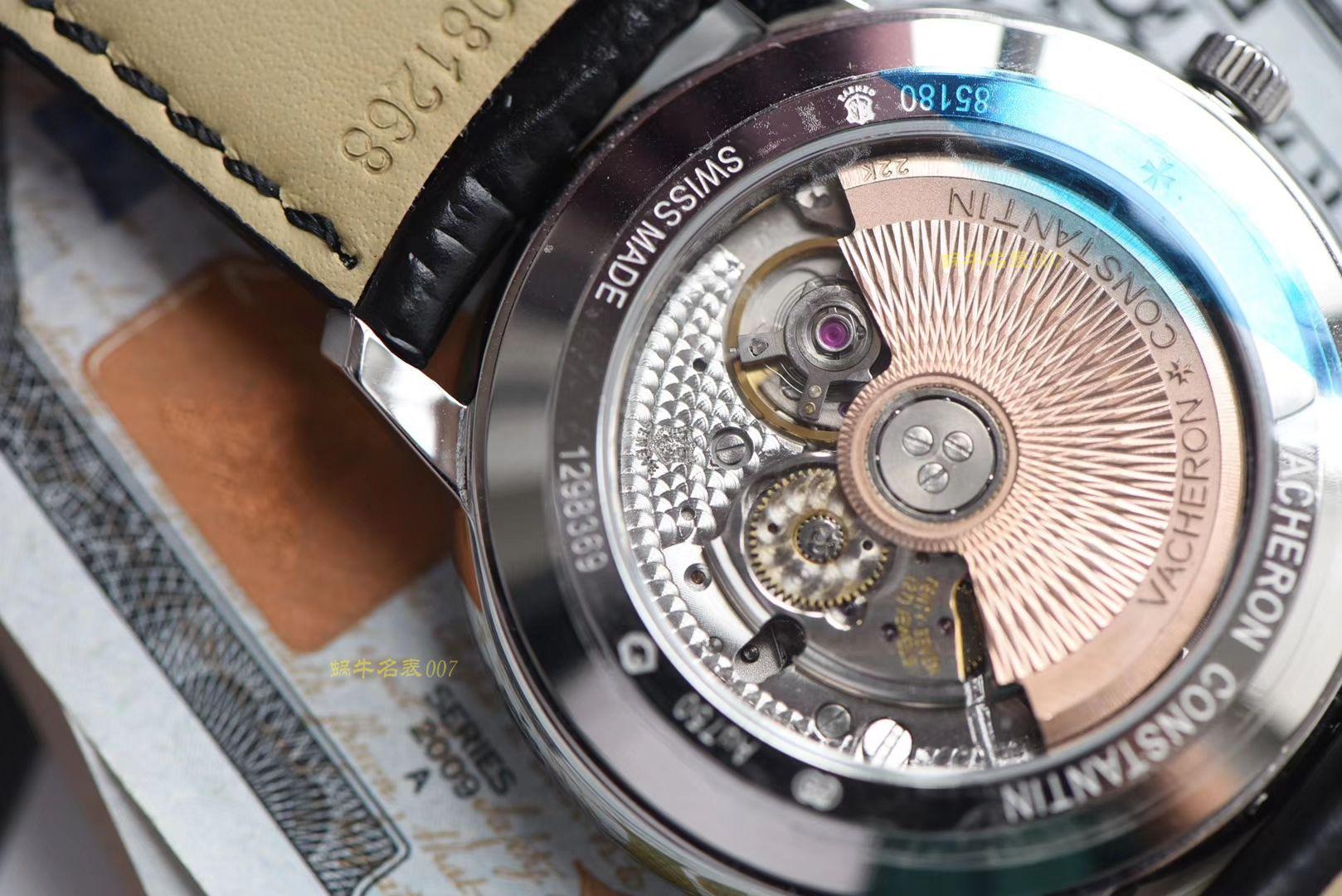 江诗丹顿传承系列85180/000G-9230腕表【台湾厂一比一高仿手表】