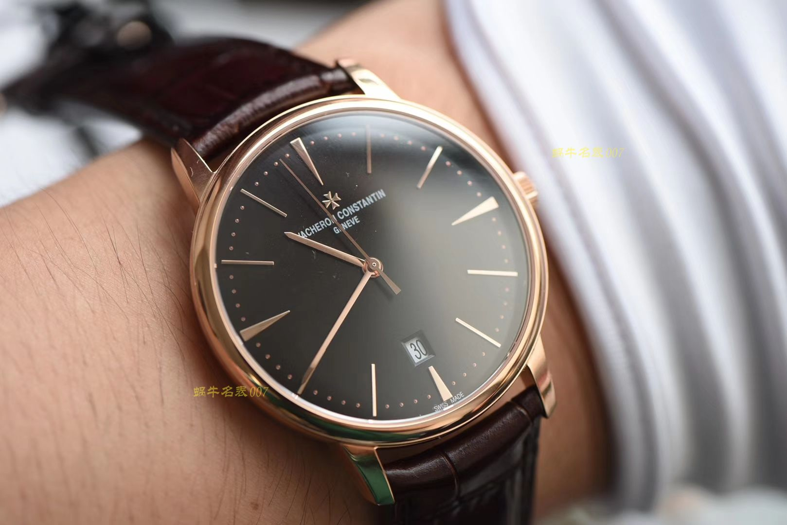 江诗丹顿传承系列85180/000R-9248腕表【顶级高仿克隆手表】