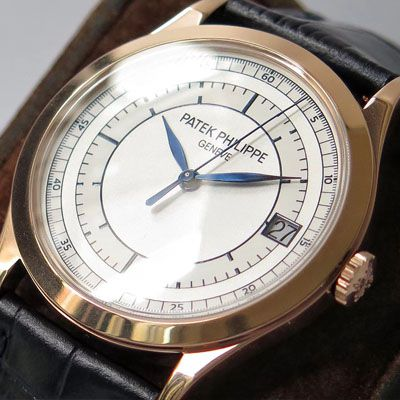 【ZF厂一比一顶级复刻】百达翡丽古典表系列5296R-001 玫瑰金腕表