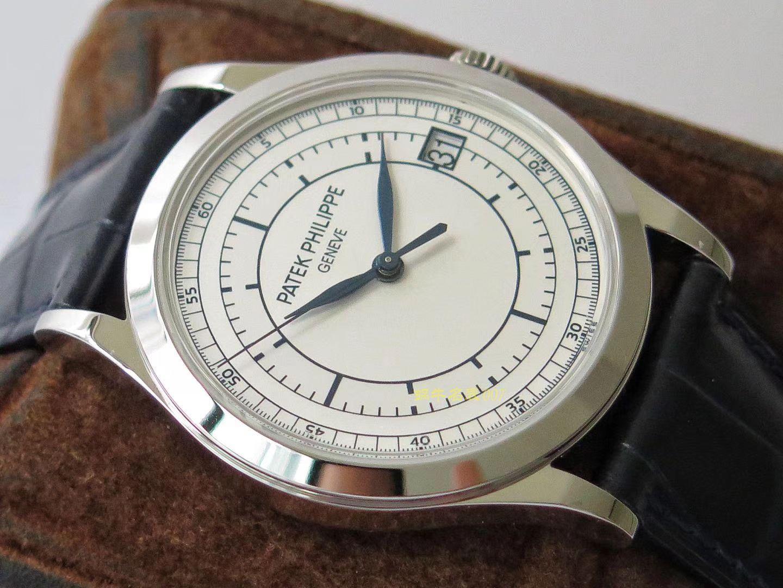 【ZF一比一超A高仿】百达翡丽古典表系列5296G-001 白金腕表