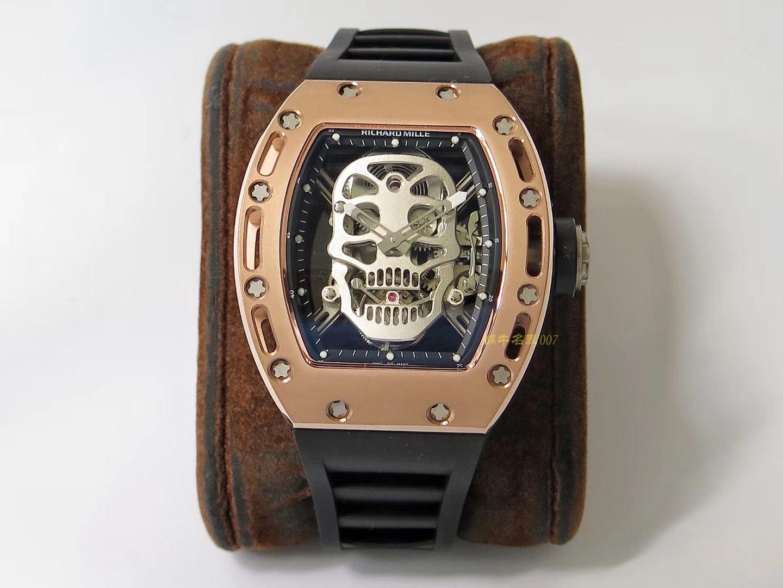 RICHARD MILLE 里查德米尔男士系列RM 52-01腕表【理查德米勒骷髅头陀飞轮】 RM052FD / RM052FD