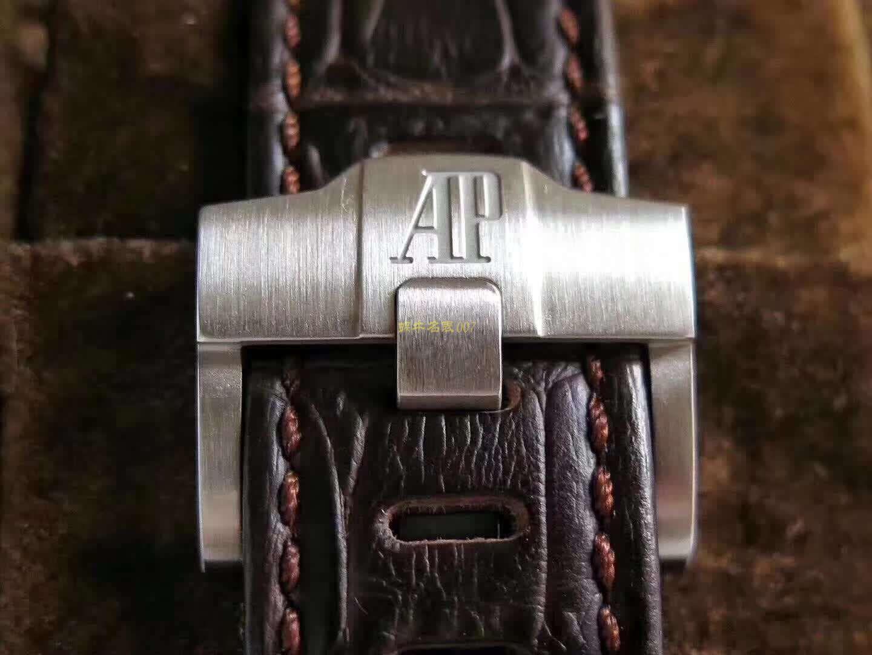 """爱彼皇家橡树离岸型系列26470ST.OO.A820CR.01腕表【JF一比一高仿手表】A P26470""""哈瓦那""""42毫米计时码表系列"""