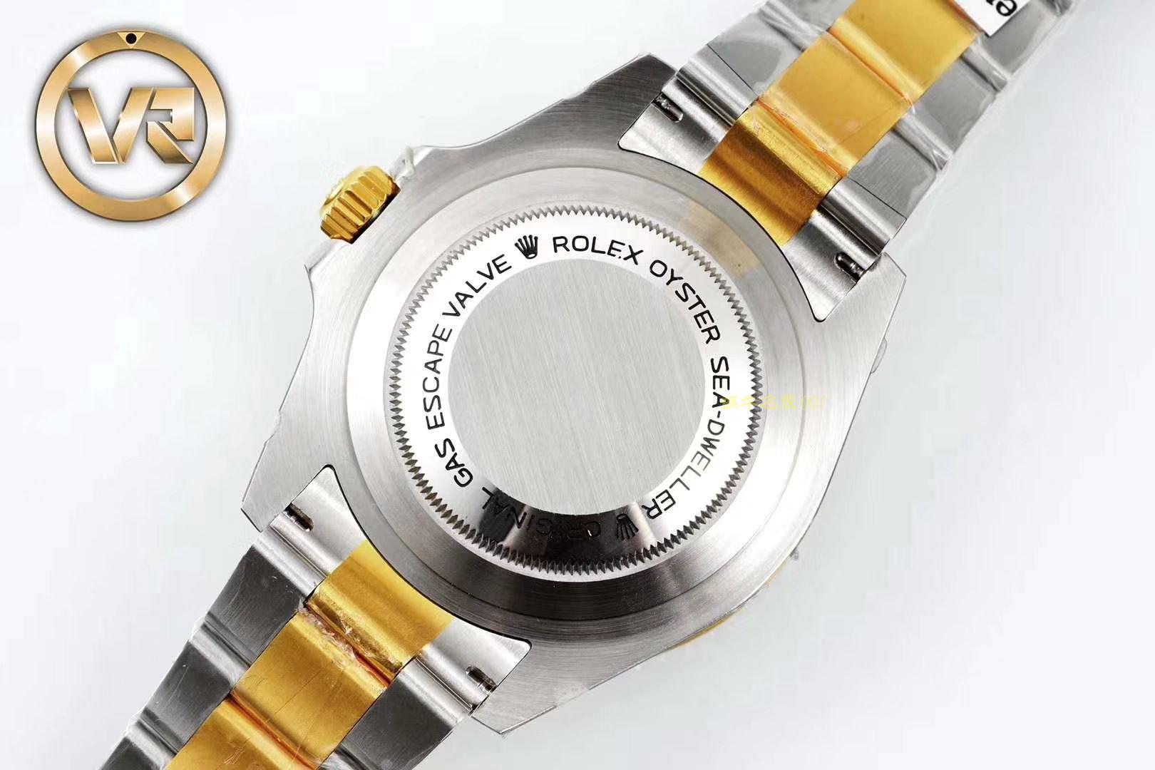 劳力士海使型系列m126603-0001腕表【VR一比一超A高仿海使单红鬼王43MM K金版本包金】