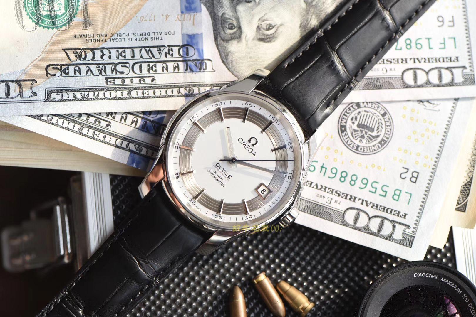 视频评测欧米茄碟飞系列431.33.41.21.02.001腕表【VS精品 蝶飞侧透 一比一超A高仿手表】 / M363