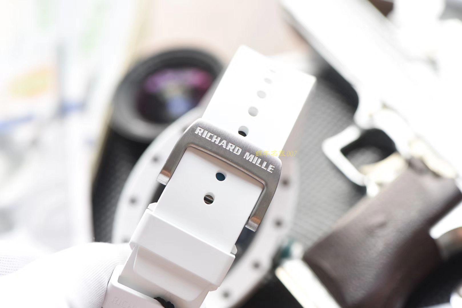 【视频评测】RICHARD MILLE里查德米尔男士系列RM 055腕表【KV一比一超A高仿手表】