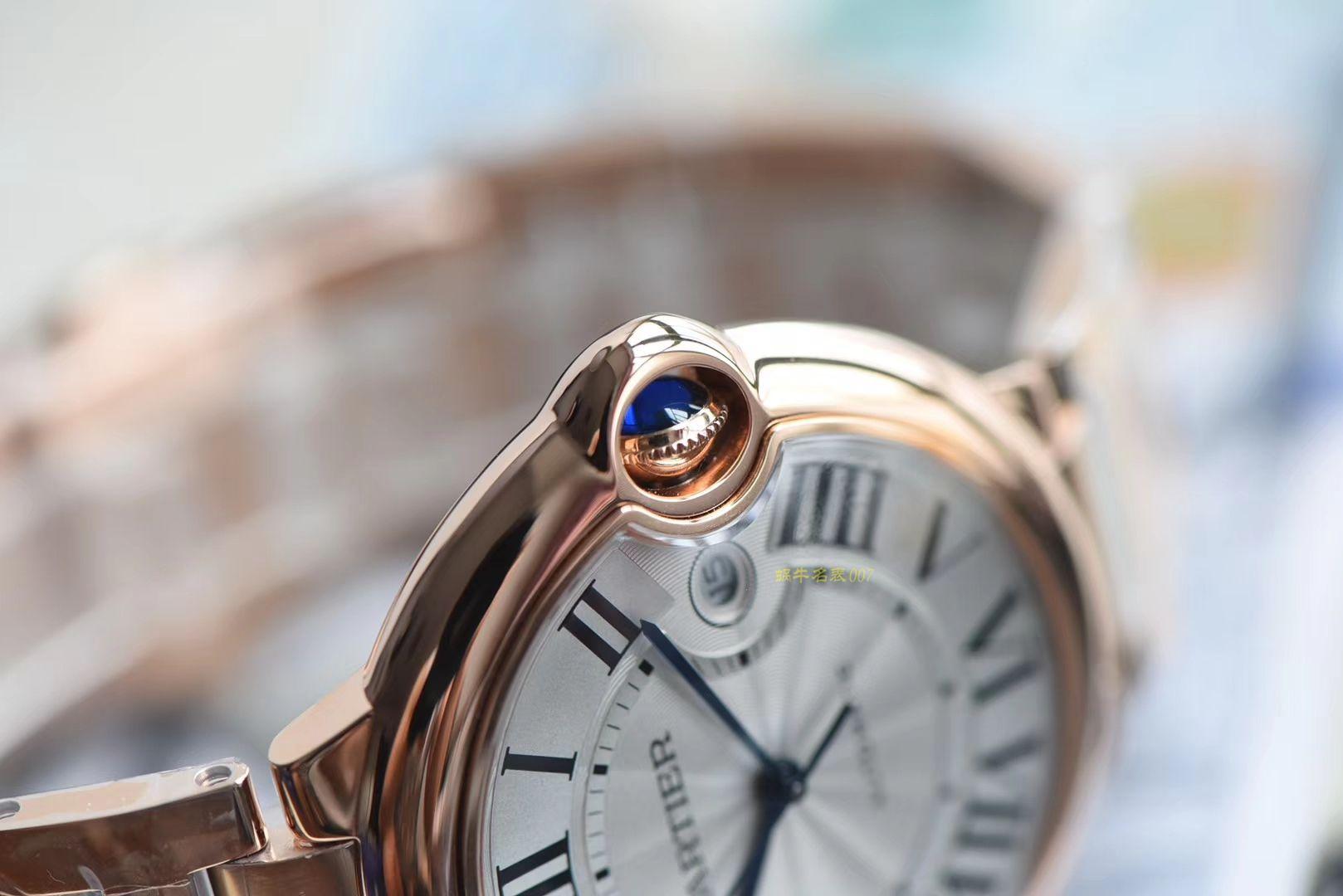 CARTIER卡地亚蓝气球系列W69006Z2腕表【一比一超A高仿手表】V6厂顶级蓝气球全玫瑰金款❗