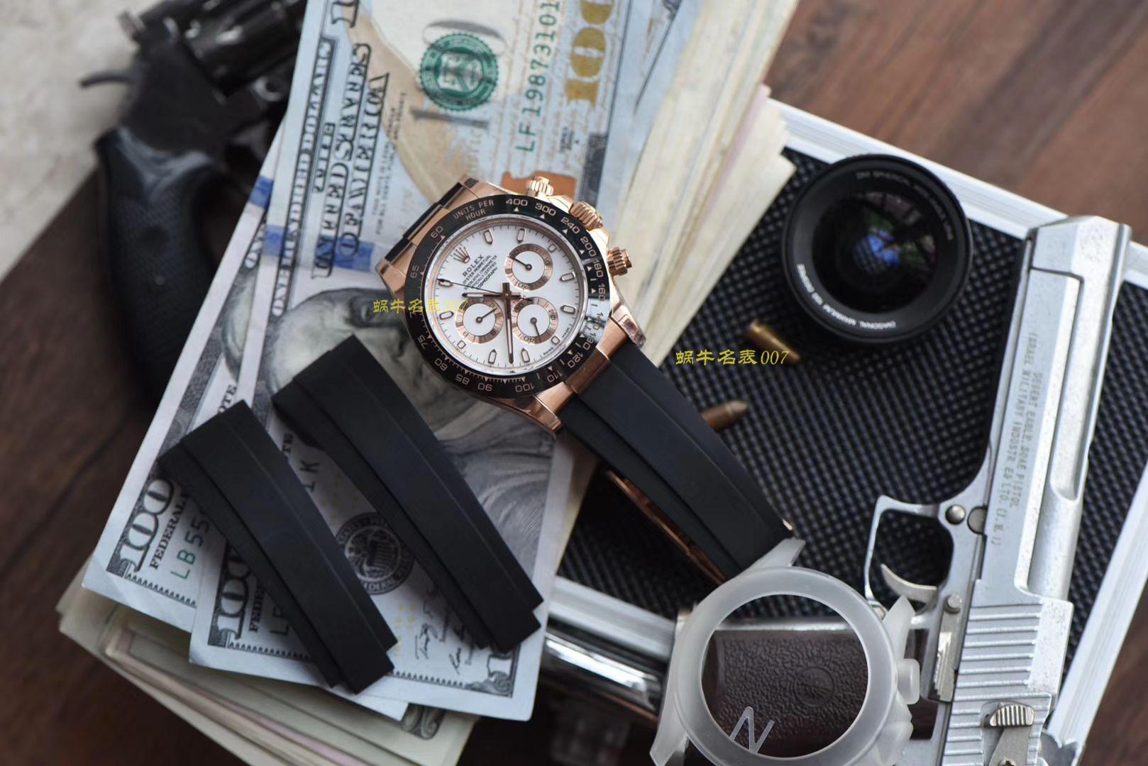 【视频评测N厂超级胶带款4130迪通拿】一比一复刻Rolex劳力士宇宙计型迪通拿系列M116515ln-0019腕表