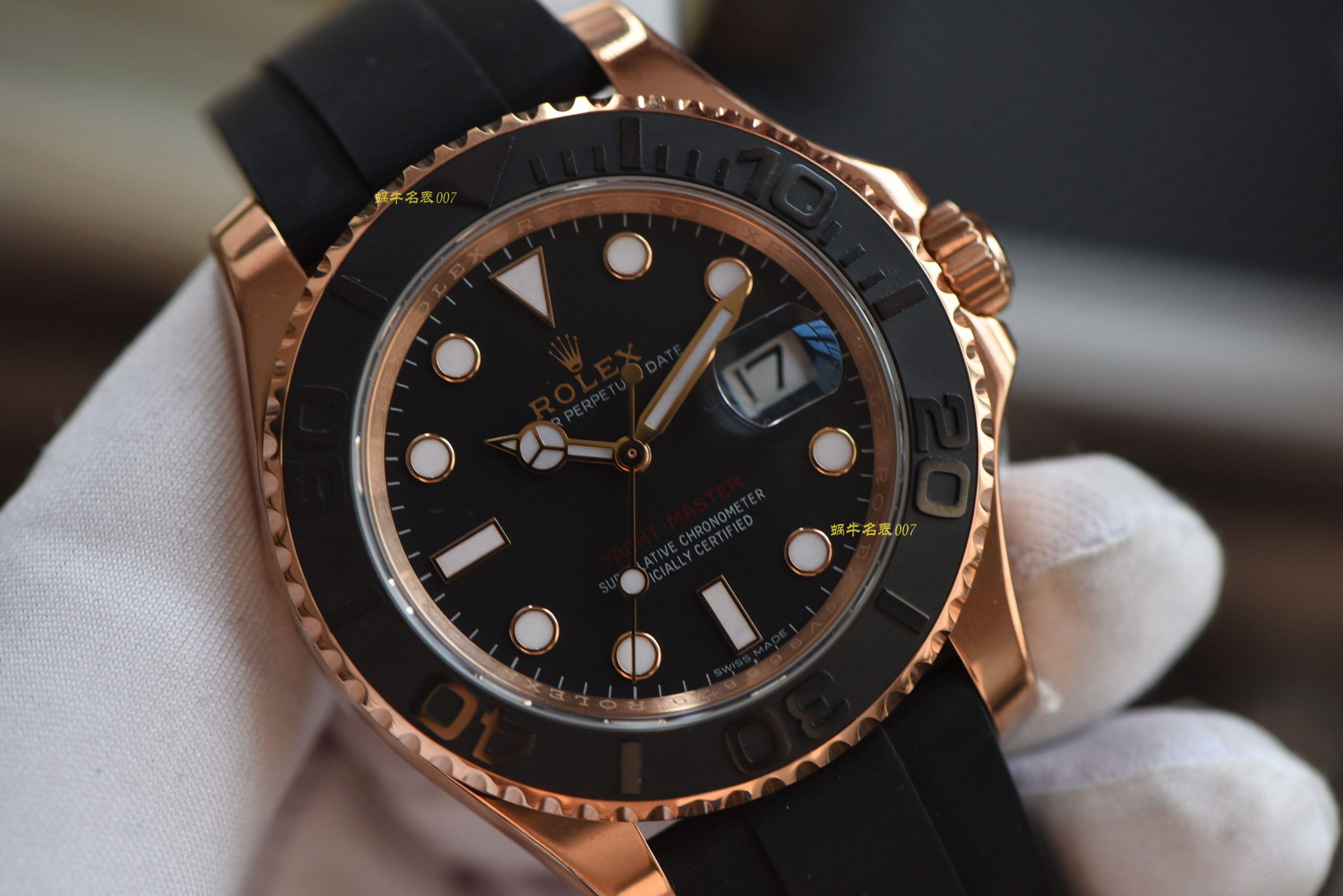 【视频评测】AR劳力士游艇名仕型系列116655-Oysterflex bracelet腕表(AR一比一高仿劳力士金游艇)