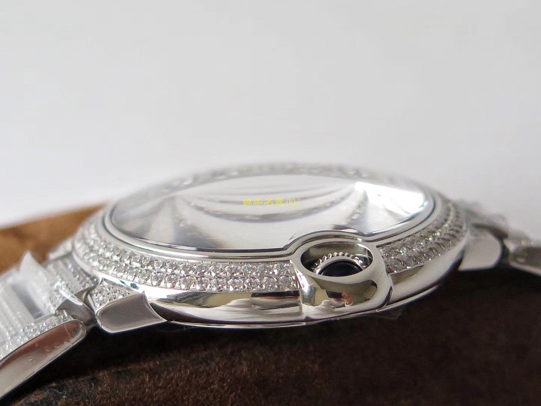 【TW一比一高仿】]卡地亚神豪级满钻版42mm大气球W69006Z2(全玫瑰金版)以及WE9009Z3(全白金版)腕表
