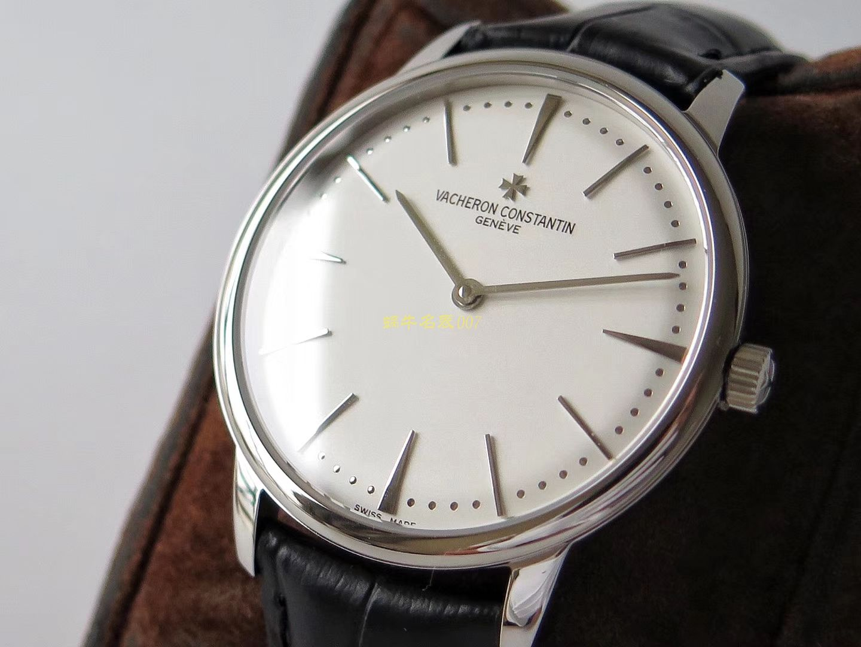 【KZ一比一超A高仿手表】江诗丹顿传承系列81180/000G-9117(白色),81180/000P-9539(深灰)腕表