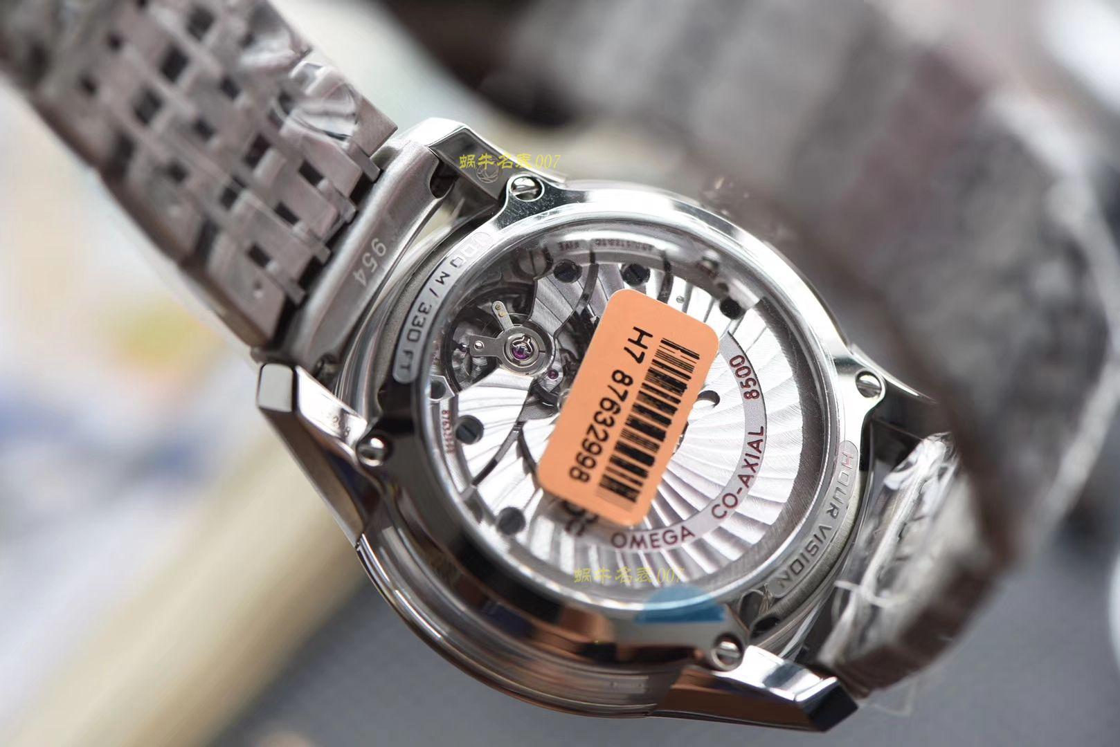 【视频评测】欧米茄碟飞系列431.30.41.21.02.001腕表【VS厂蝶飞明亮之白一比一高仿】