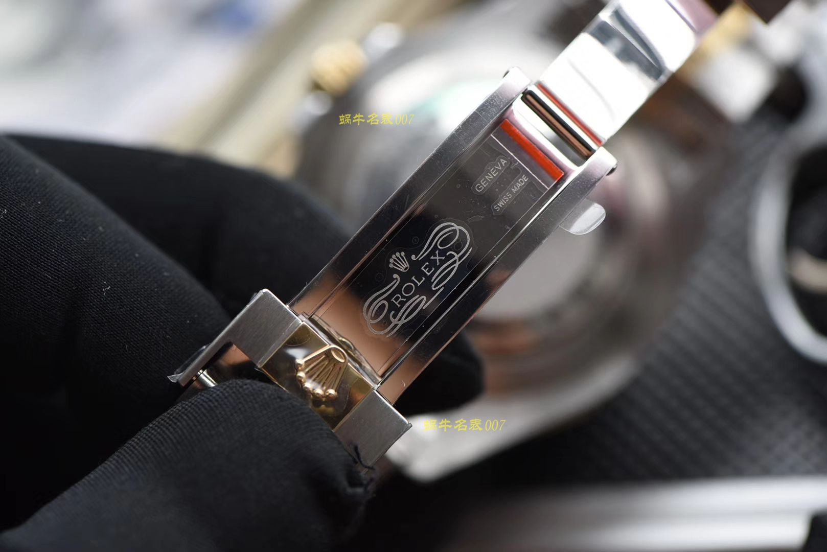 【AR厂一比一超A复刻劳力士单黄间金鬼王最强副本】劳力士SEA-DEWLLER 126603海使型系列m126603-0001腕表