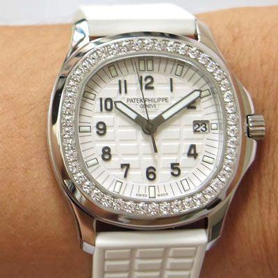 【PPF厂顶级复刻手表】百达翡丽AQUANAUT系列5067A-024女士腕表