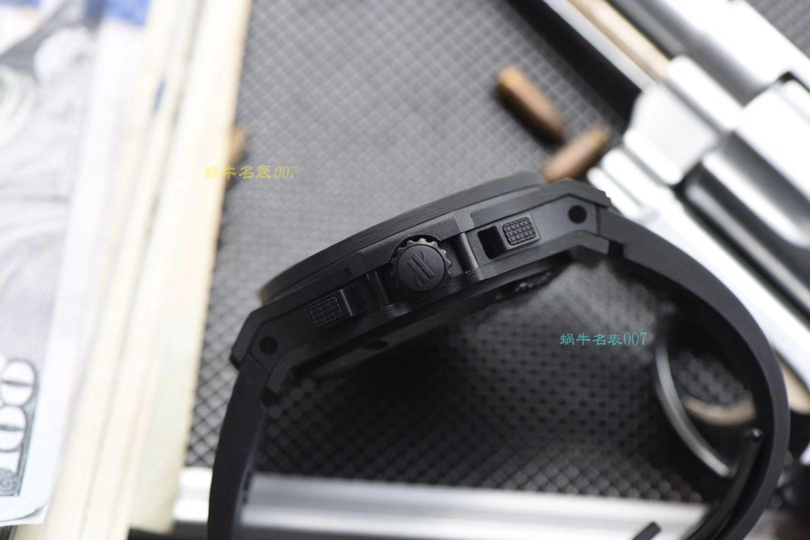 【视频评测V6厂一比一超A高仿宇舶碳纤维手表】HUBLOT宇舶BIG BANG系列301.QX.1724.RX腕表