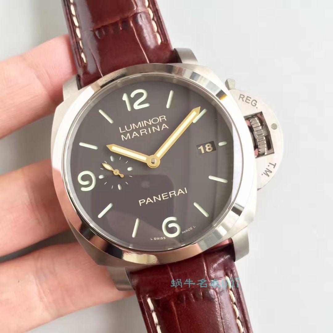 【VS一比一复刻手表】沛纳海LUMINOR 1950系列PAM 00351腕表