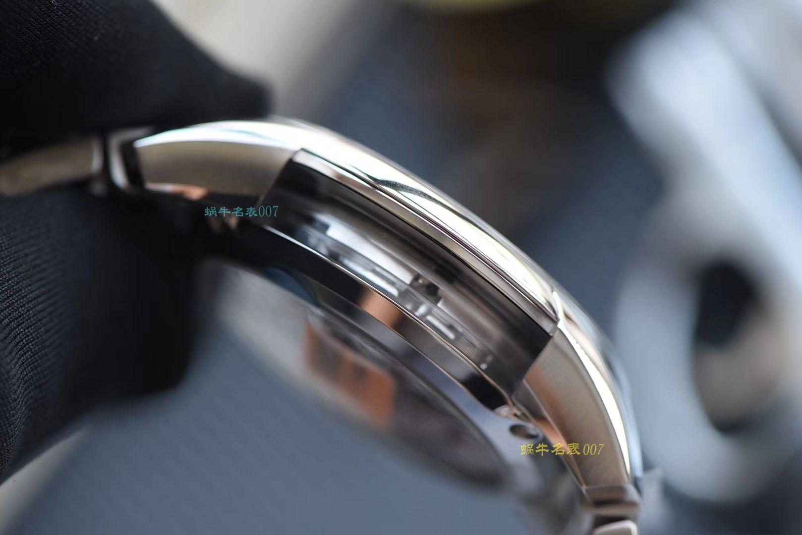 (视频评测)欧米茄碟飞系列431.30.41.21.01.001腕表【VS厂蝶飞侧透经典款黑面】 / M370