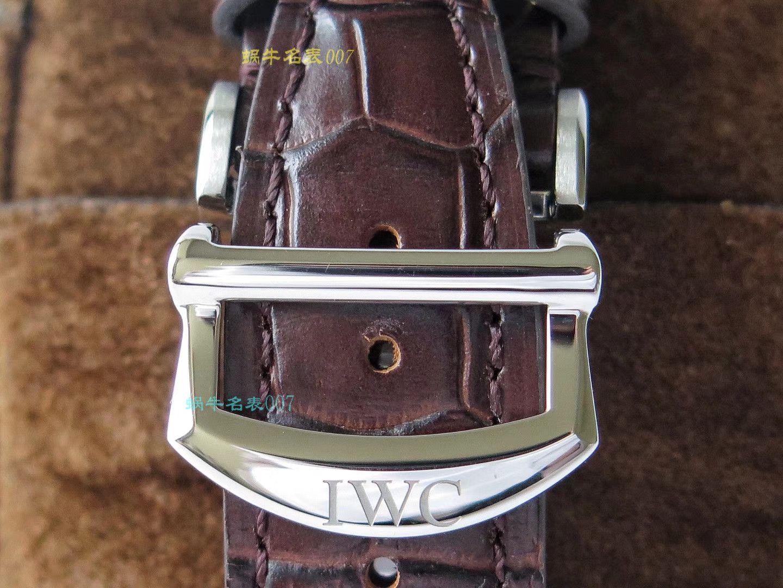 ZF匠心之作IWC波涛菲诺系列多功能计时码表儒雅登场一比一复刻万国IW391007,IW391031,IW391029,IW391019腕表 / IW356