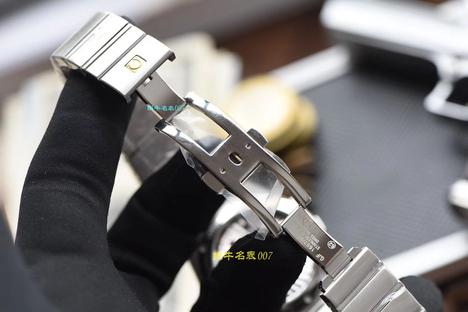 【视频评测VS厂一比一精仿星座】欧米茄星座系列123.10.38.21.51.001腕表