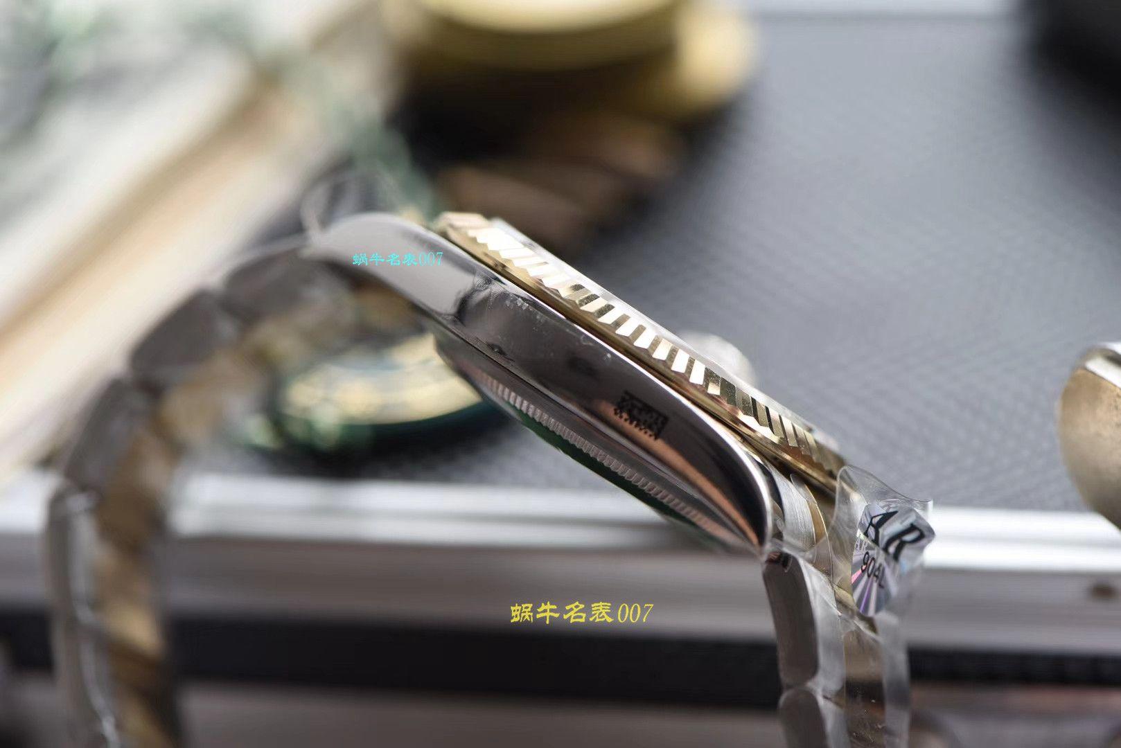 【视频评测AR厂官网劳力士41毫米间金日志】劳力士日志型系列116333-72213 G香槟盘镶钻腕表