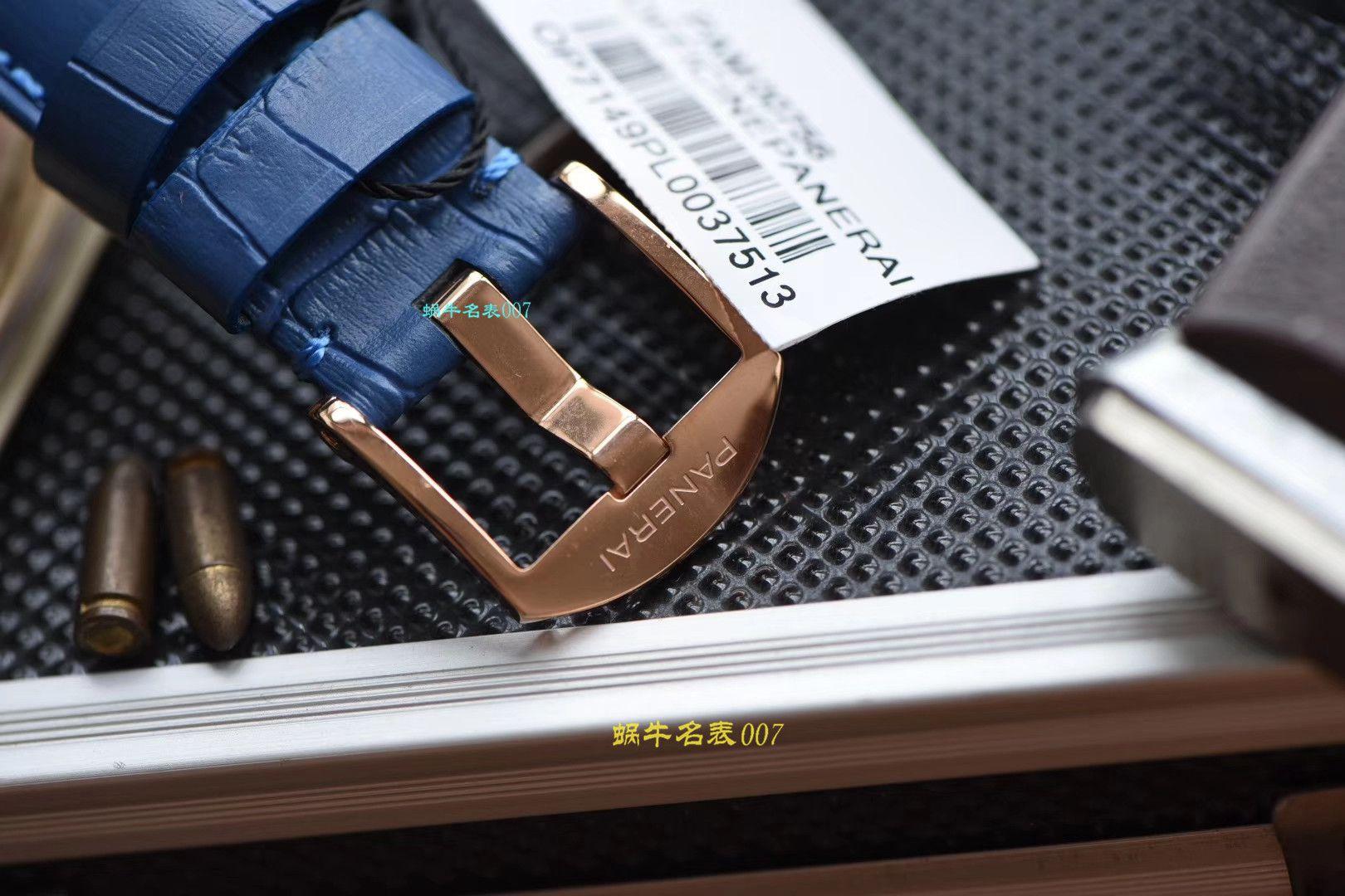 【视频评测VS厂顶级复刻沛纳海女表】沛纳海LUMINOR DUE系列PAM00756腕表