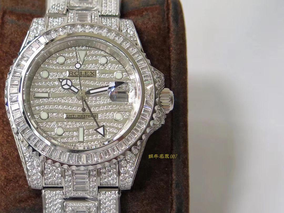 【劳力士复刻表】劳力士格林尼治型II系列116769TBR-74779B腕表
