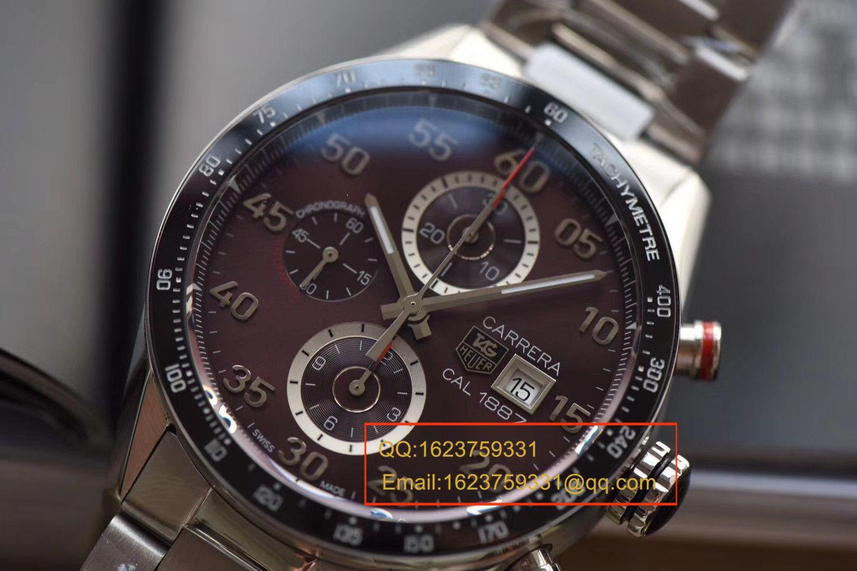 【仿表吧仿表哪个厂做的最好】视频评测V6乱真新作~最高版本豪雅卡莱拉腕表 / FK08