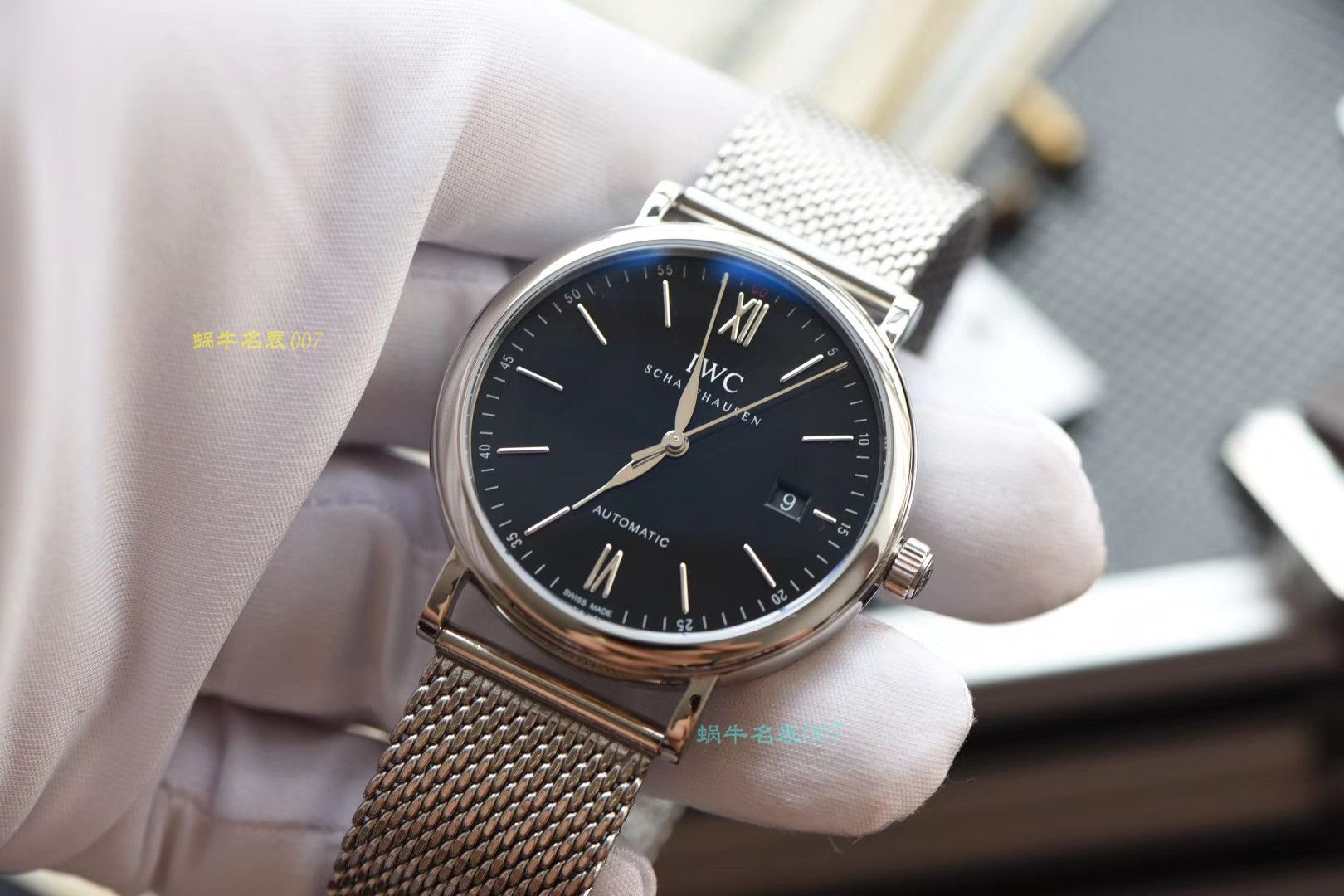【顶级复刻版手表价格】视频评测IWC万国表柏涛菲诺系列IW356506腕表