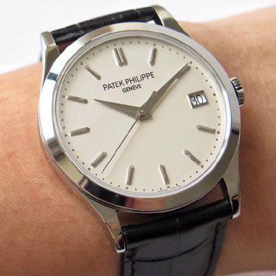 【手表复刻版是什么意思】ZF厂复刻百达翡丽古典表系列5296G-010 白金腕表