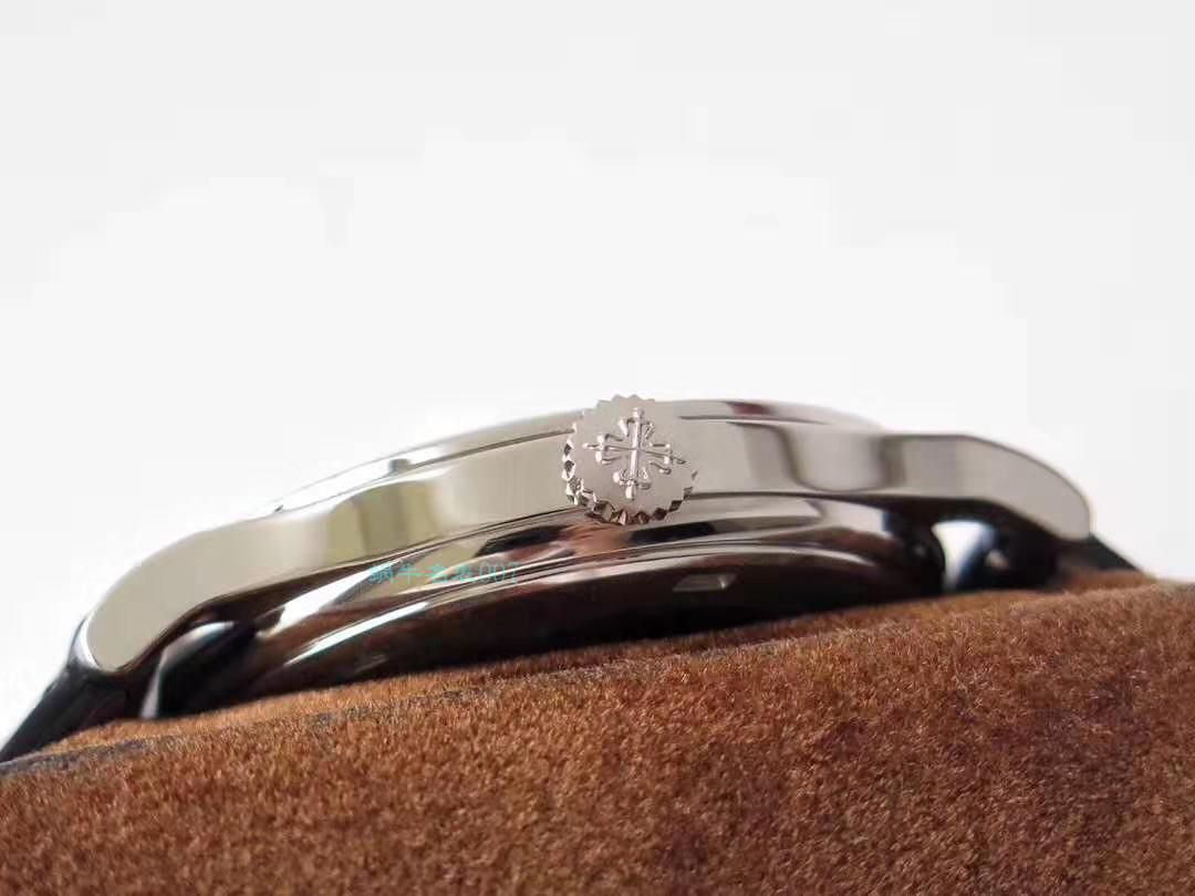 【手表复刻版是什么意思】ZF厂复刻百达翡丽古典表系列5296G-010 白金腕表 / BD186
