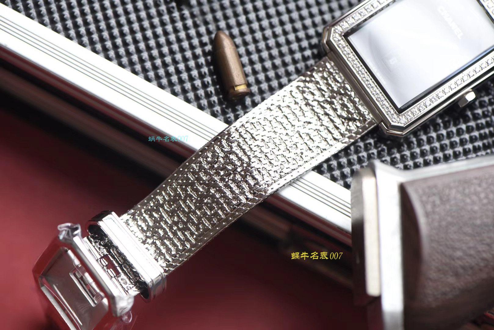 【复刻手表哪家好】香奈儿BOY · FRIEND系列BOY∙FRIEND TWEED女士腕表TWEED斜纹软呢钢带多色可选