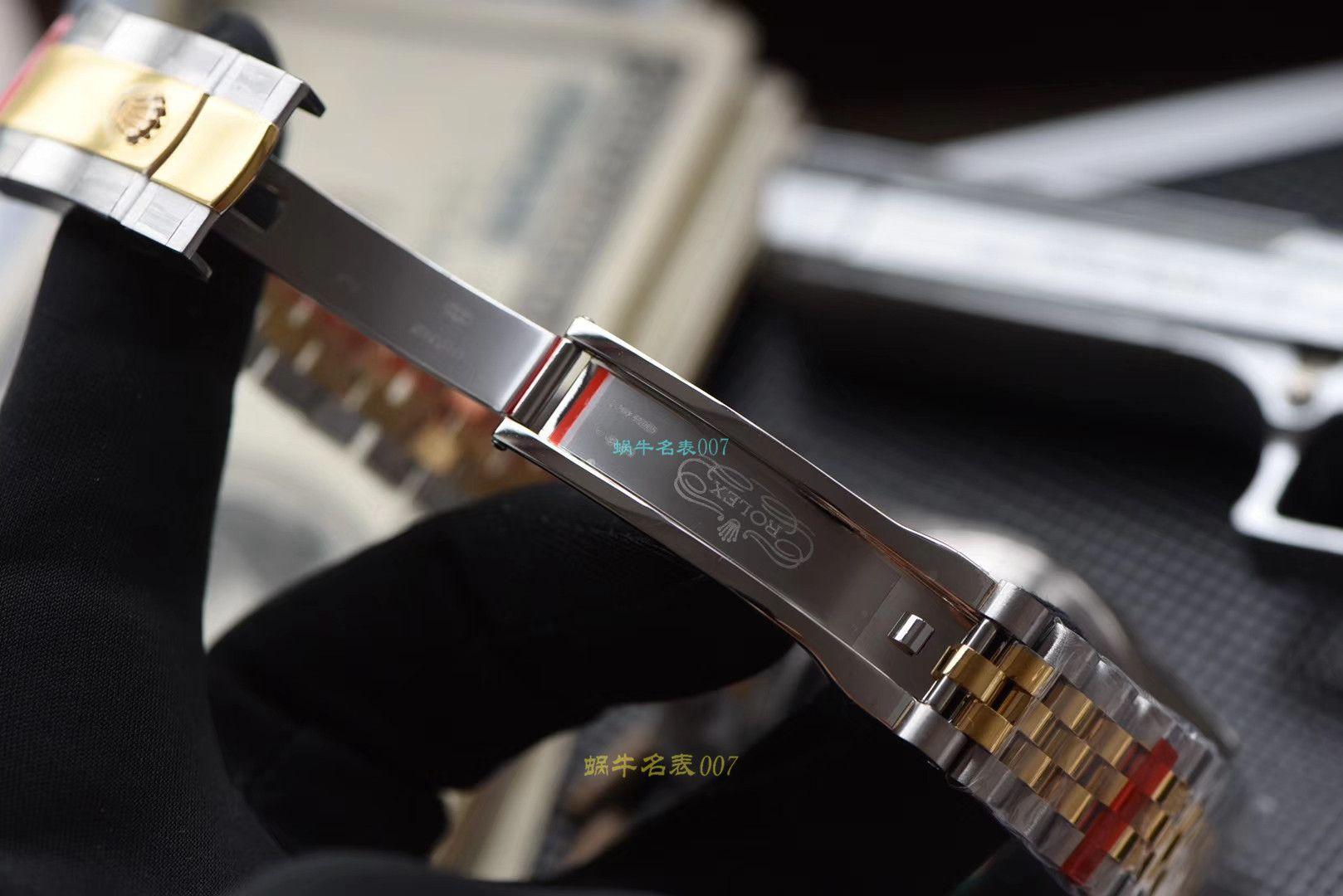【仿劳力士机械表男表价格】视频评测DJ厂劳力士日志型系列m126333-0016,m126333-0012,m126333-0010腕表