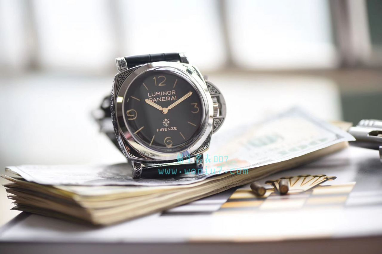 【视频评测V9厂Panerai复刻表】沛纳海LUMINOR系列 PAM00972 Firenze腕表