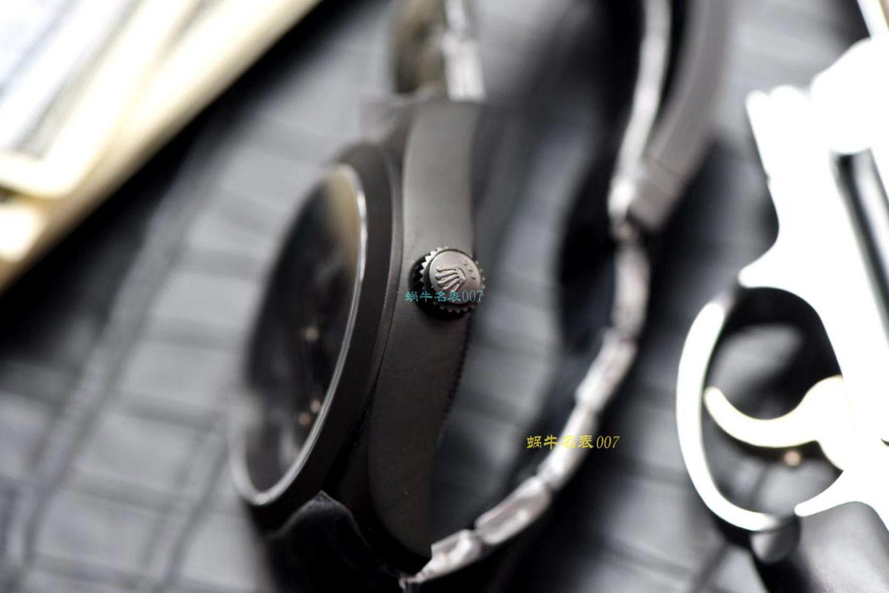 JB厂出品劳力士Label Noir合作开发116400闪电针的数据进行开发蚝式第一枚劳力士陀飞轮腕表 / R361