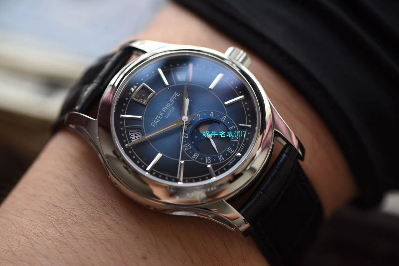 【GP厂顶级复刻手表】百达翡丽复杂功能计时系列5205G-010 白金腕表