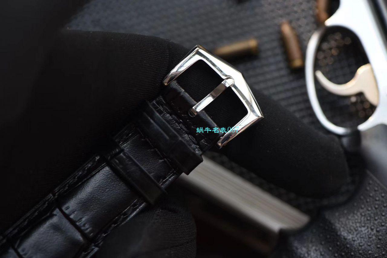 【GR厂复刻百达翡丽手表价格】PATEK PHILIPPE复杂功能计时系列5205G-001 白金腕表 / BD272