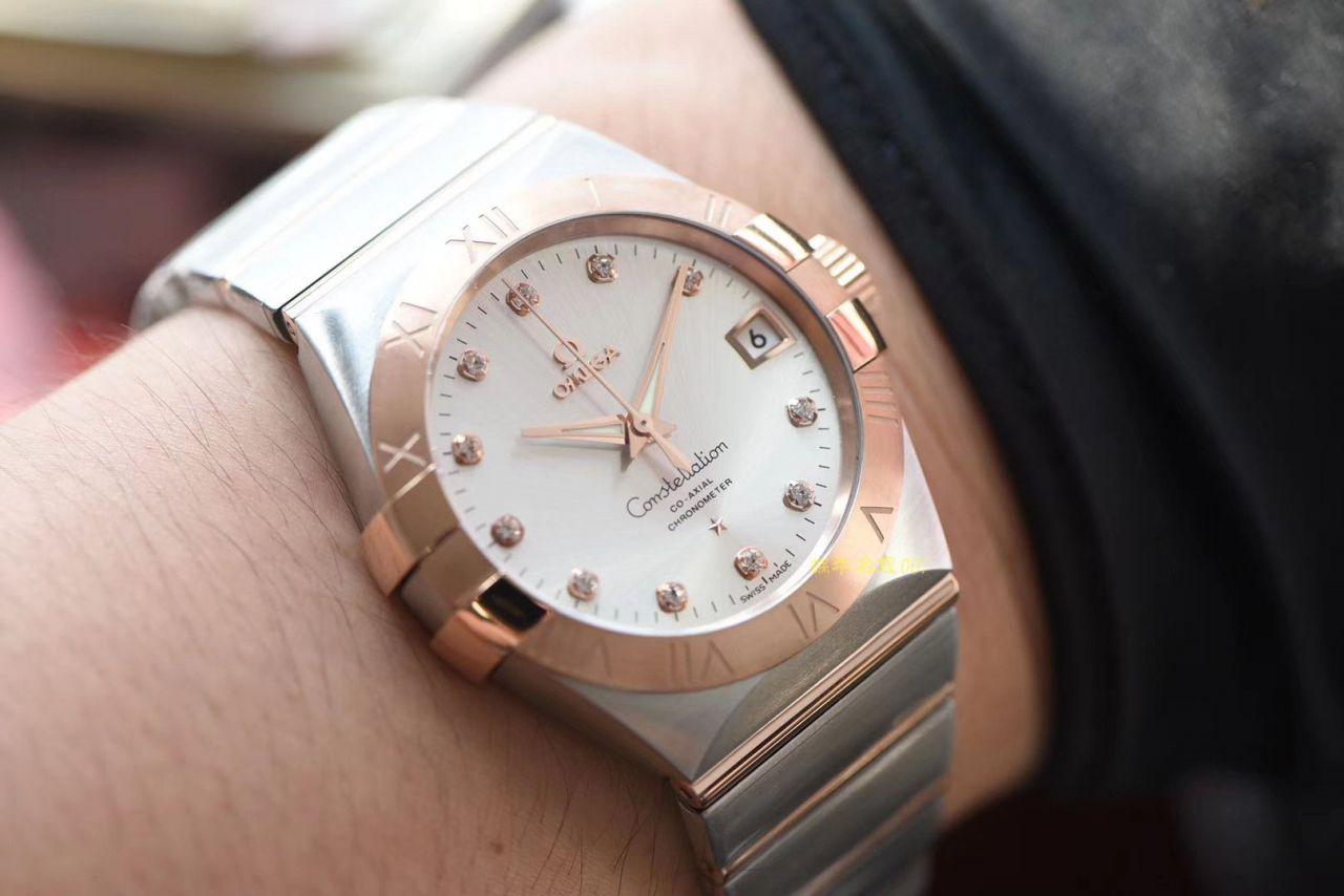 【VS厂顶级复刻手表】OMEGA欧米茄星座系列123.20.38.21.02.001腕表