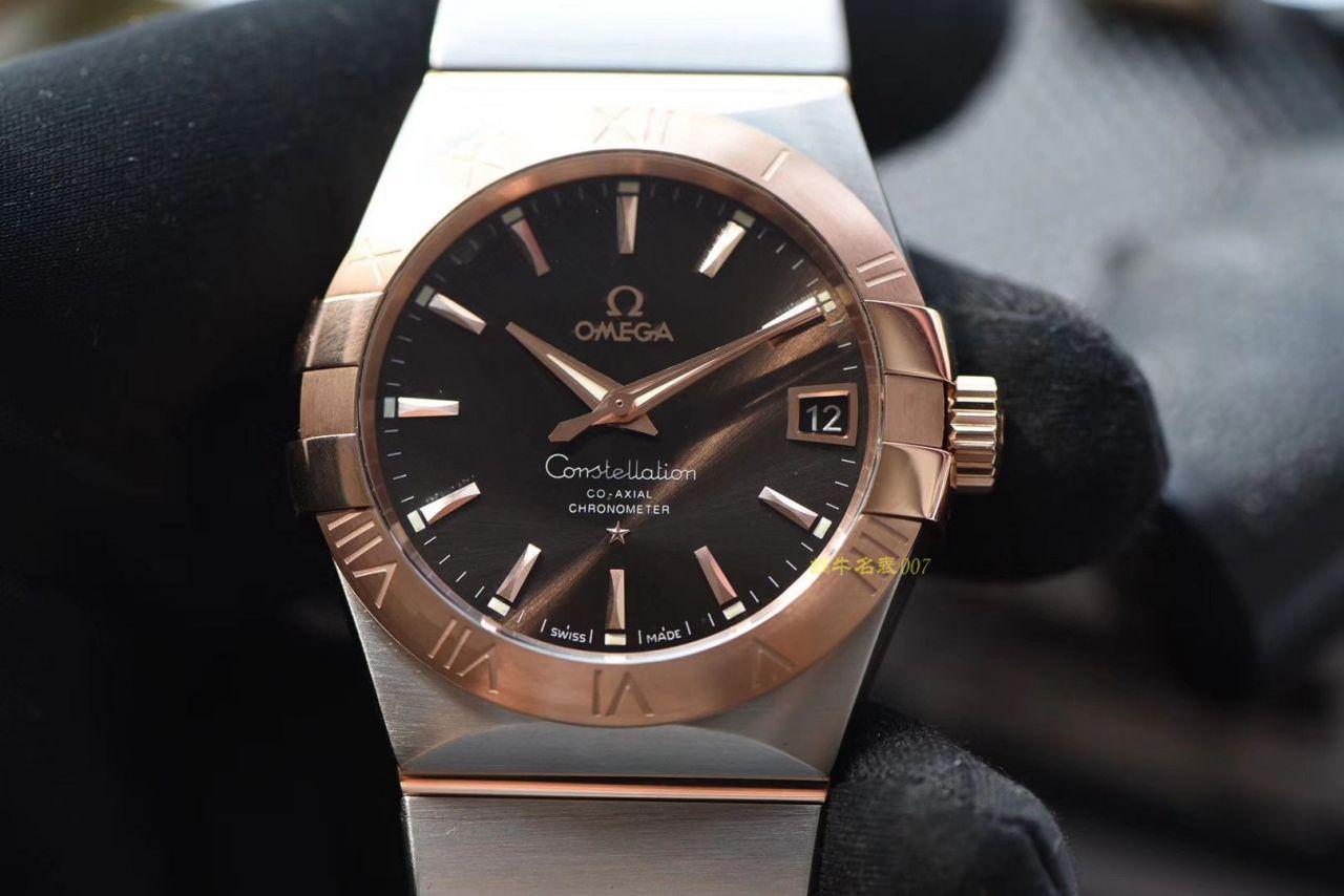 【VS厂复刻手表官网】欧米茄星座系列123.20.38.21.13.001腕表