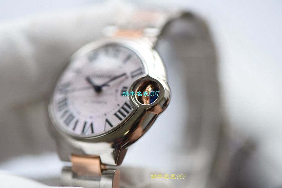 视频评测V6厂卡地亚蓝气球复刻手表各个尺寸