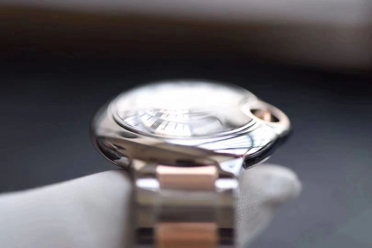 【最好的复刻手表V6厂蓝气球28mm最新升级版本】卡地亚蓝气球系列W3BB0005女士28毫米腕表